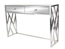 Mirror Console Table Orren Ellis Scorpio Modern 2 Drawer Mirrored Console Table