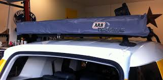 Portable Awnings For Cars Amazon Com Arb 814301 Brown 4 U0027 Awning Automotive