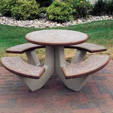 round cement picnic tables best concrete picnic table f54 on stunning home decoration idea with