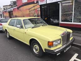 yellow rolls royce used 1984 rolls royce silver spirit v8 for sale in southsea