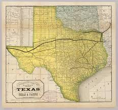 Correct World Map by State Of Texas David Rumsey Historical Map Collection