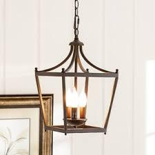 Lantern Pendant Light Fixtures Pendant Lighting You Ll Wayfair