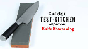 Sharpen Kitchen Knives Knife Sharpening Cooking Light