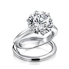 cubic zirconia engagement rings white gold wedding rings white gold cubic zirconia rings believe by