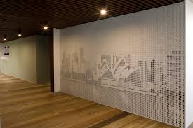 key graphix panels perforated panels that create the picture or