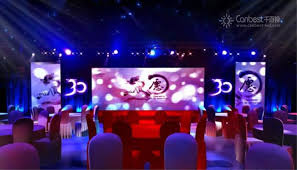 wedding backdrop led hd color p6 stage background backdrop led screen for