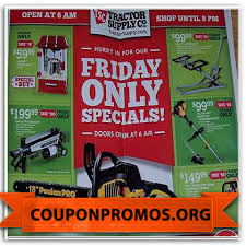 tractor supply black friday sale 2017 free printable tractor supply coupon october 2017