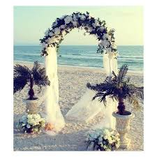 Wedding Arches At Walmart White Metal Arch 7 5 Ft For Wedding Party Bridal Prom Garden