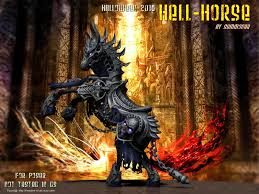 halloween horse summoner u0027s hell horse halloween 2016 fan art for poser free
