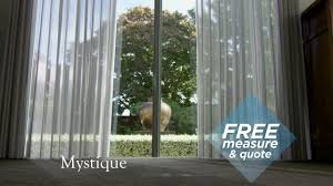 window treatments nz ltd mystique a blind and curtain in one
