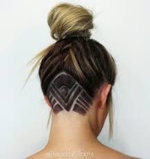 20 undercut hair tattoo ideas for