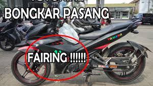 yamaha motocross gear how to disassemble front fairing yamaha jupiter mx king 150 youtube