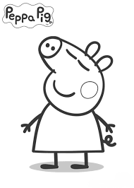 kids peppa pig coloring pages peppa pig theme