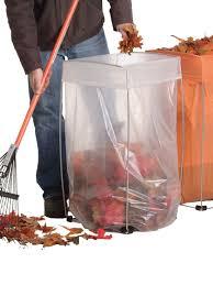 leaf bag holder bag buddy gardeners com