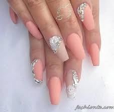 How To Decorate Nails At Home The 25 Best Rhinestone Nail Designs Ideas On Pinterest Coffin