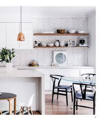 Kitchen Splash Guard Ideas Herringbone Kitchen Splash Back Scandinavian Kitchen Love