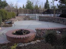 gorgeous outdoor backyard landscaping ideas with fire pit