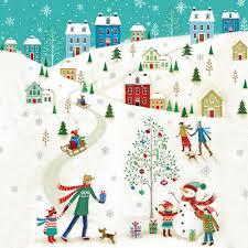 winter wonderland christmas card charity cards