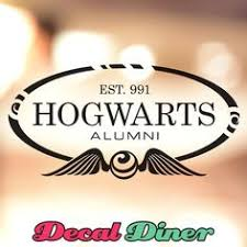 hogwarts alumni decal hogwarts alumni decal sticker crafts