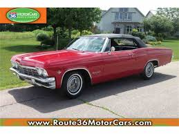 1965 chevrolet impala for sale on classiccars com 27 available
