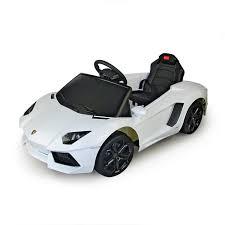 lamborghini white price amazon com lamborghini aventador 6v electric ride on car