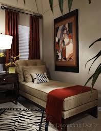beauty elegant living room with brown furniture and rug animal