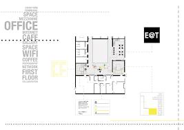 Internet Cafe Floor Plan Victoria Building Regeneration