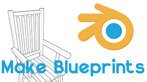 make a blueprint make blueprints of your models blender tutorial easy youtube