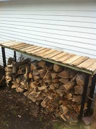Firewood Storage Rack Plans kitchen elegant 9 best firewood rack images on pinterest storage
