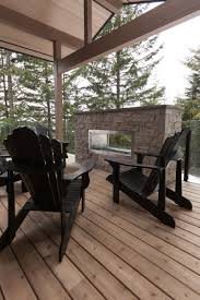 Maison En Bois Interieur Aménagement Intérieur Moderne D U0027une Maison Au Canada