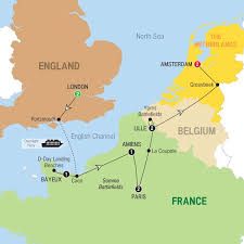 netherlands beaches map wwi and wwii battlefields preview 2017