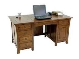 bureau en bois massif bureau en bois massif hévéa teck et exotique en bambou rotin