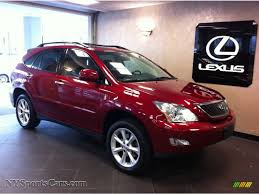 lexus suv for sale ny 2009 lexus rx 350 awd in matador red mica 116749 nysportscars