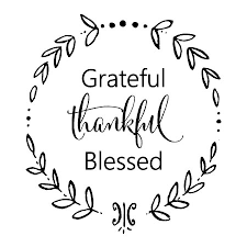 grateful thankful blessed calligraphy wall quotes decal