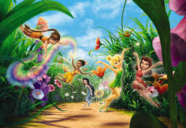 wall mural photo wallpaper fairies in the meadow for bedroom wall mural photo wallpaper fairies in the meadow for bedroom disney tinker bell ebay