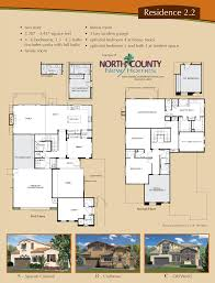 Floor Plans In Spanish by Altaire Floor Plan 2 2 New Homes For Sale In San Elijo Hills