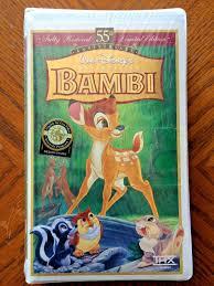 bambi vhs ebay