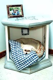 dog beds made out of end tables pet bed end table livingonlight co