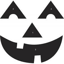 pumpkin faces templates invitation template