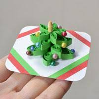 quilling christmas card tutorial instructions on quilling