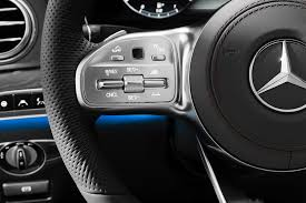 2018 mercedes benz s class steering wheel controls motor trend