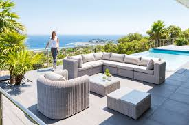 Mobilier Terrasse Design Salon Modulable Libertad Home Jardin Et Véranda Pinterest