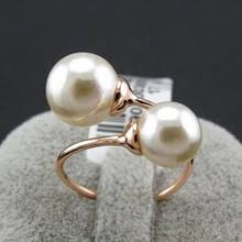 aliexpress buy brand tracyswing rings for women buy pearl rings gold and get free shipping on aliexpress