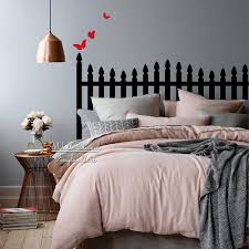 Vinyl Headboard Decal by Wall Stickers Headboard Promotion Shop For Promotional Wall