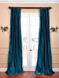 Peacock Blue Sheer Curtains Teal Sheer Curtains Teawing Co
