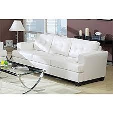 Wood And Leather Sofa Amazon Com Acme 15095b Diamond Bonded Leather Sofa With Wood Leg