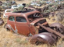 Vintage Ford Truck Junk Yards - ford parts page