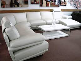 White Leather Sofa Modern Real Leather Sofas 100 Sofa Modern Sets And Recliner White Set