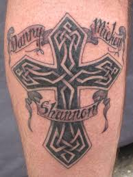 tattoos for and tribal and celtic cross designs