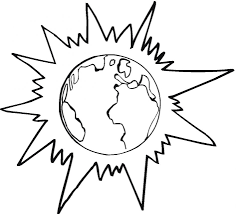 earth coloring pages printable virtren com